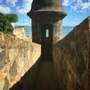 El Morro guarded the city from invaders and still stands today.