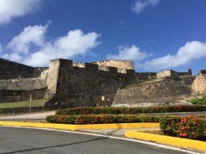 San Cristobal Fort is rich in history and beauty.