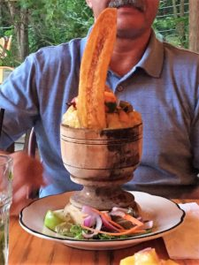 Mofongo a traditional Puerto Rican food