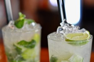 A refreshing mojito is my favorite rum drink.