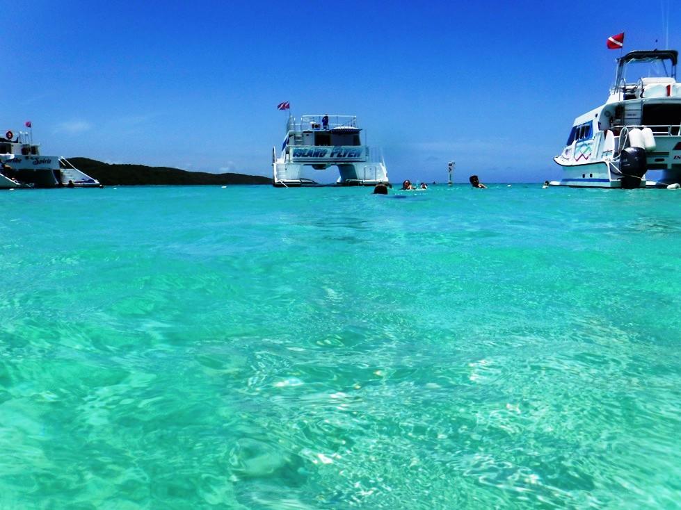 Snorkel boat East Island Excursions Culebra Puerto Rico