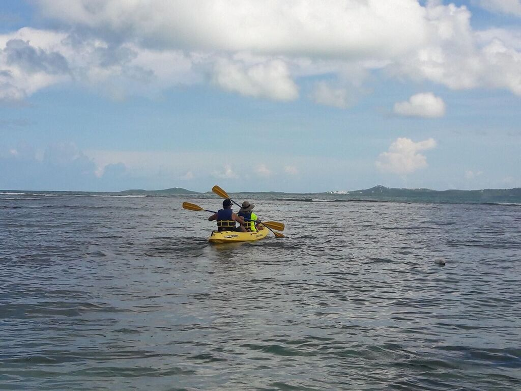 Kayaking is a popular activity in Luquillo.
