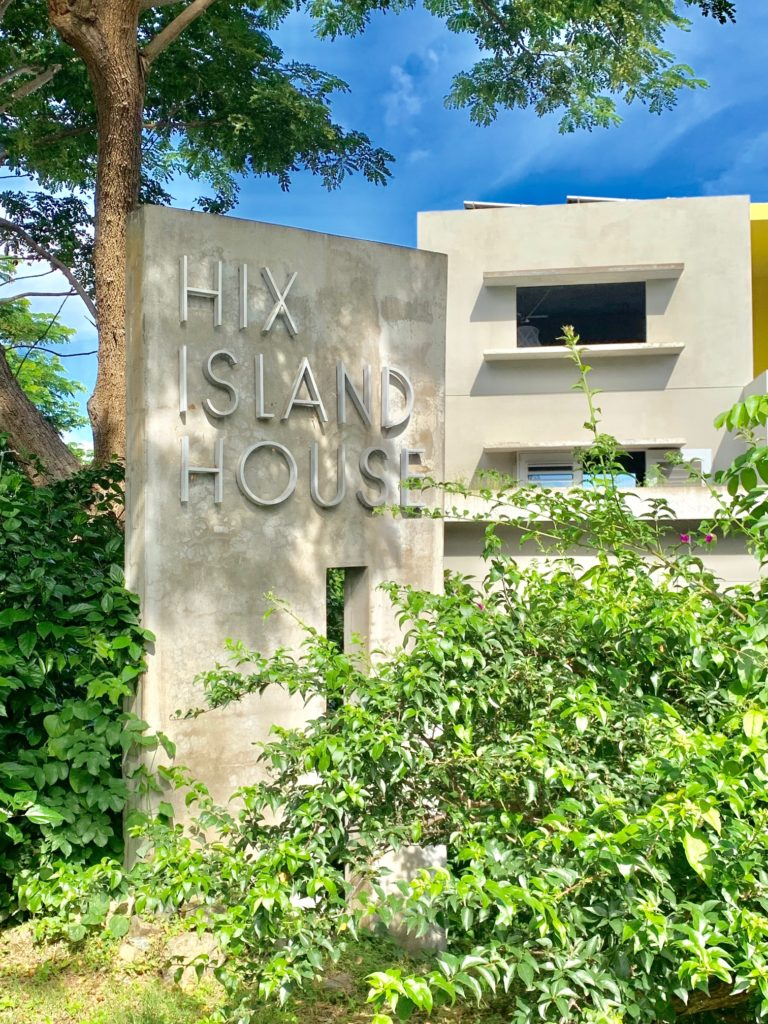 Getting Away from it all at HIX Island House.