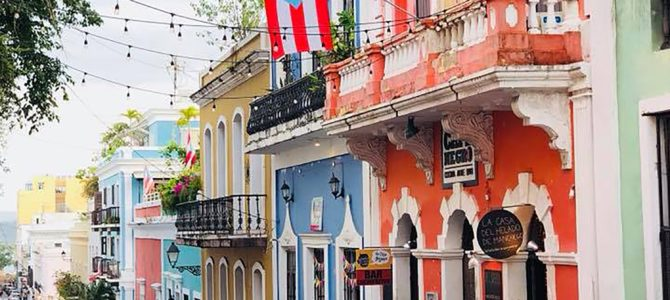 Self Guided Walking Tour of Old San Juan